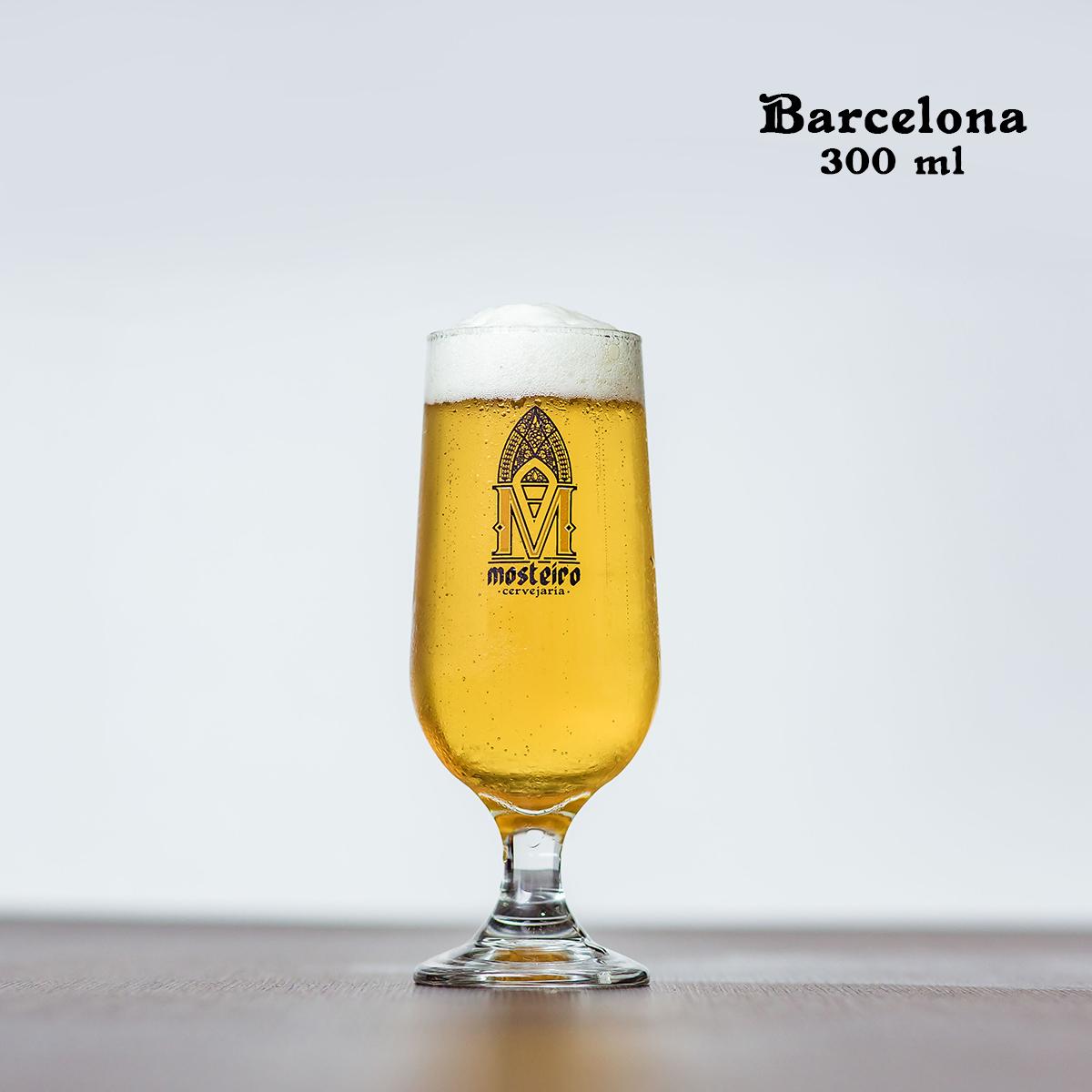Taça Barcelona em vidro 300ml